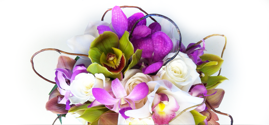 Kauai Wedding flowers - Hawaii bridal bouquets and tropical flower ...