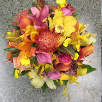Bouquet Flower Hawaiian Wedding